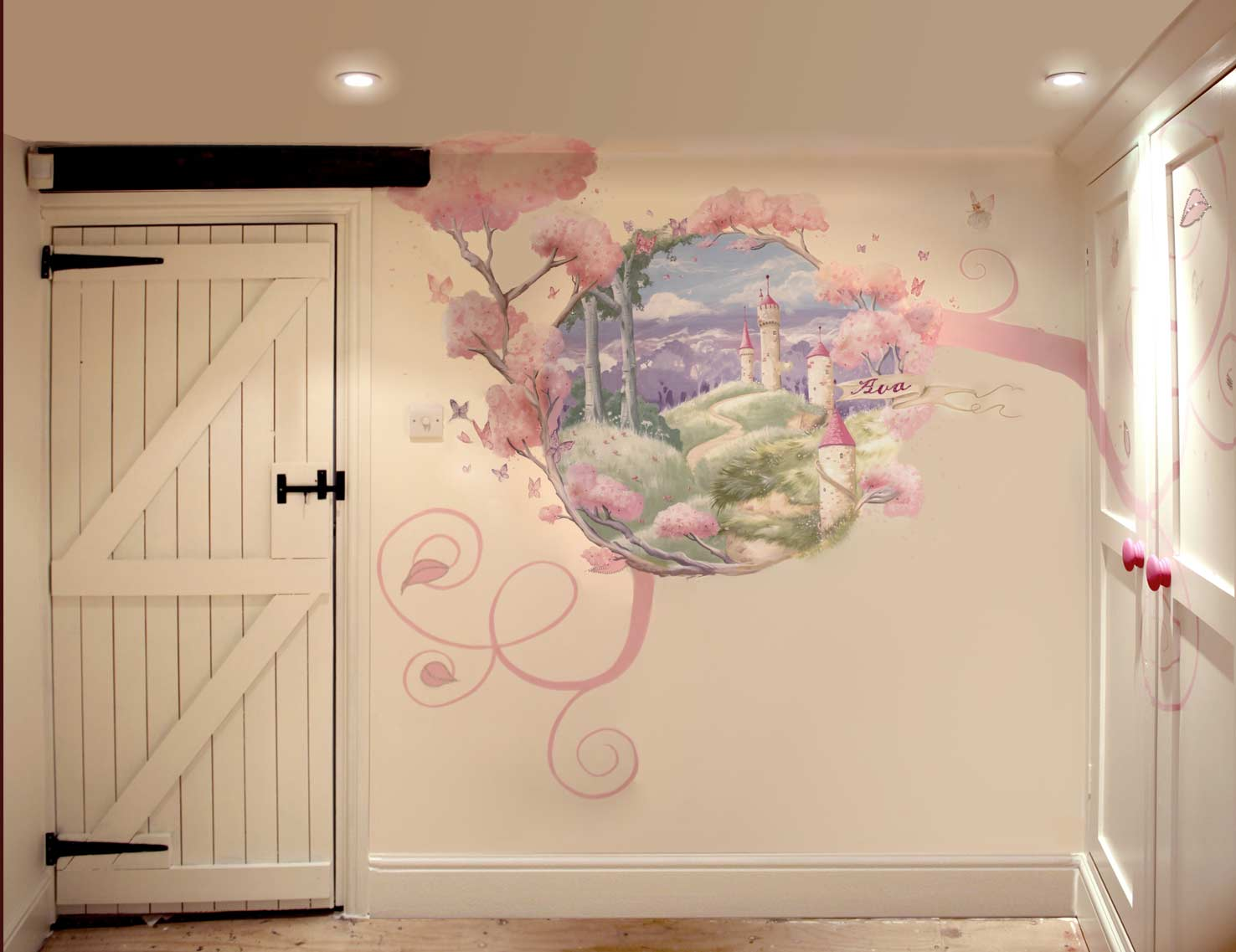 Mural portfolio for Fairy tale wall mural