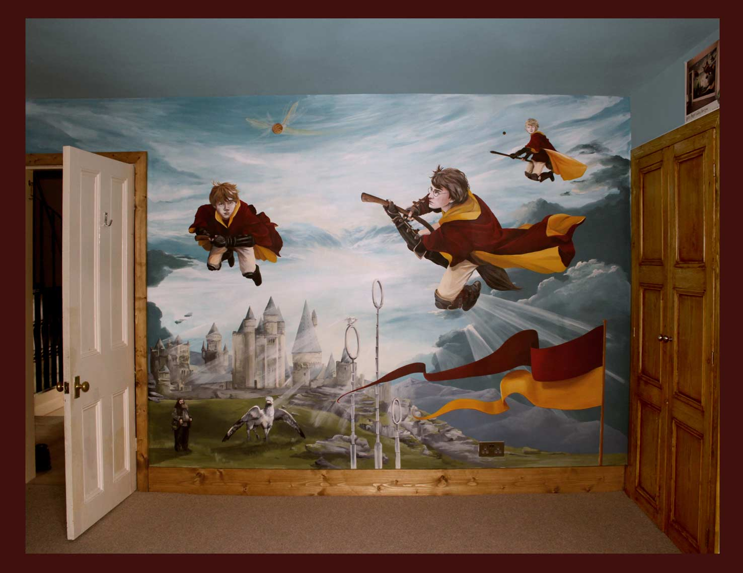 for Boys bedroom mural