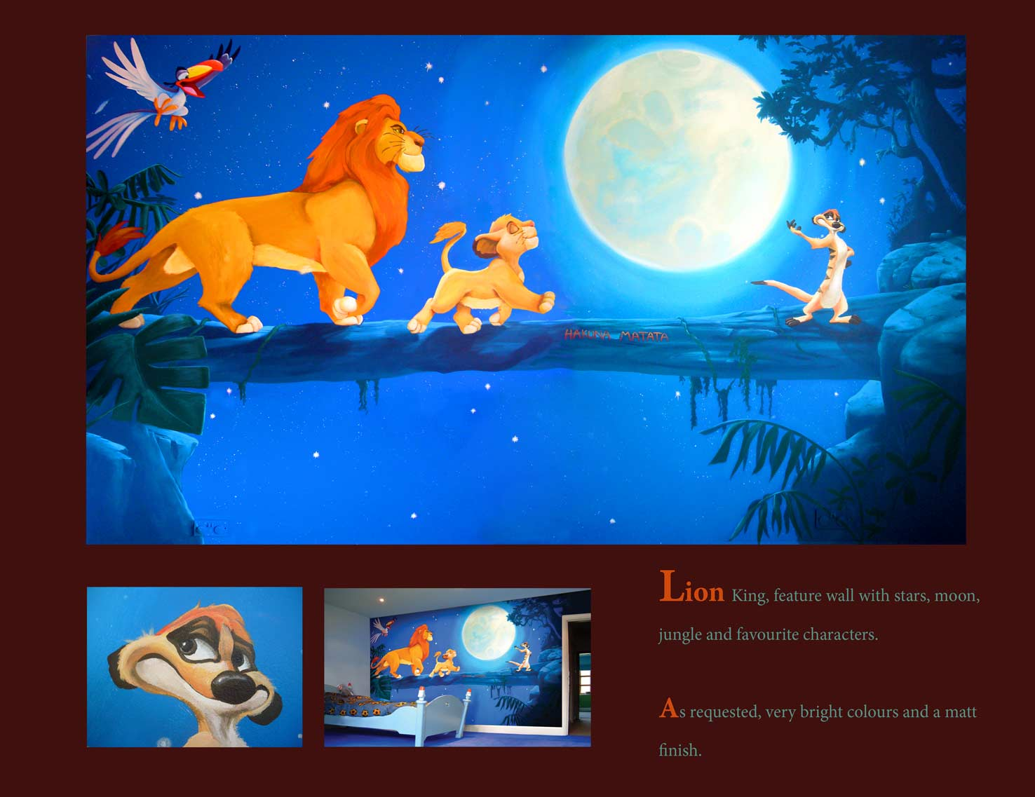 Football lion king quotes quotesgram for Mural vision tv